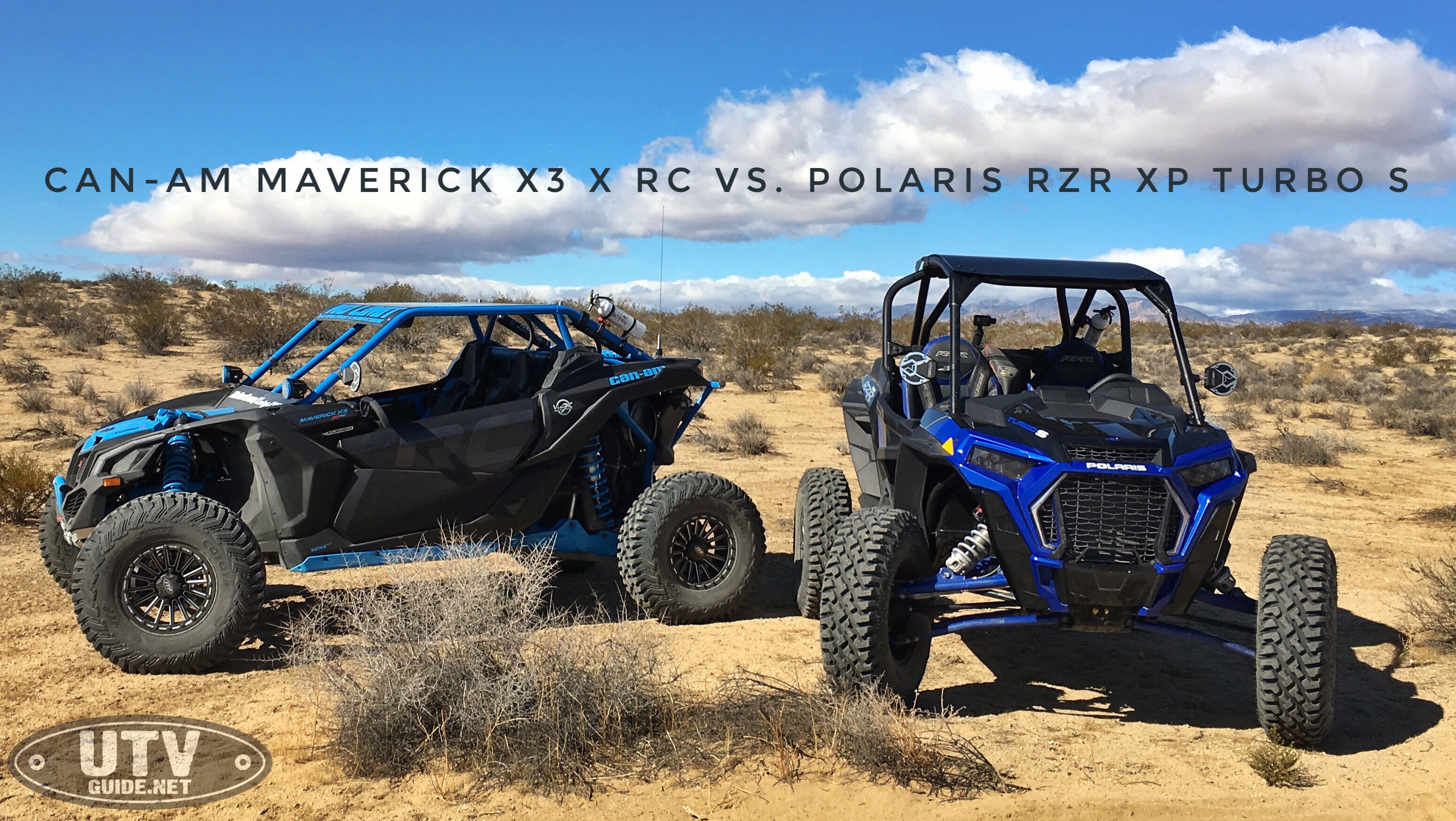 CAN-AM MAVERICK X3 X RC VS POLARIS RZR XP TURBO S - UTV Guide