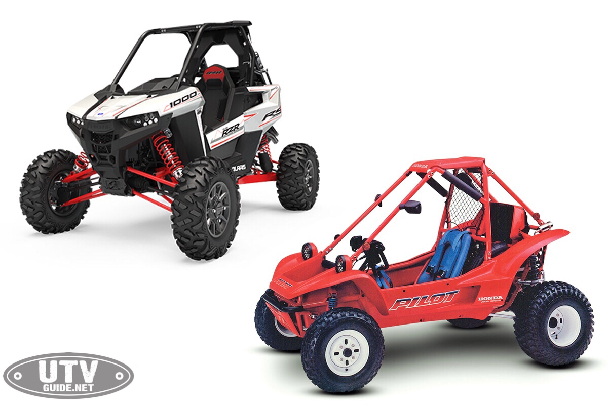 Polaris RZR RS1 vs. Honda Pilot