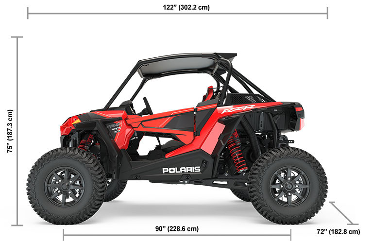 Polaris RZR XP Turbo S Dimensions