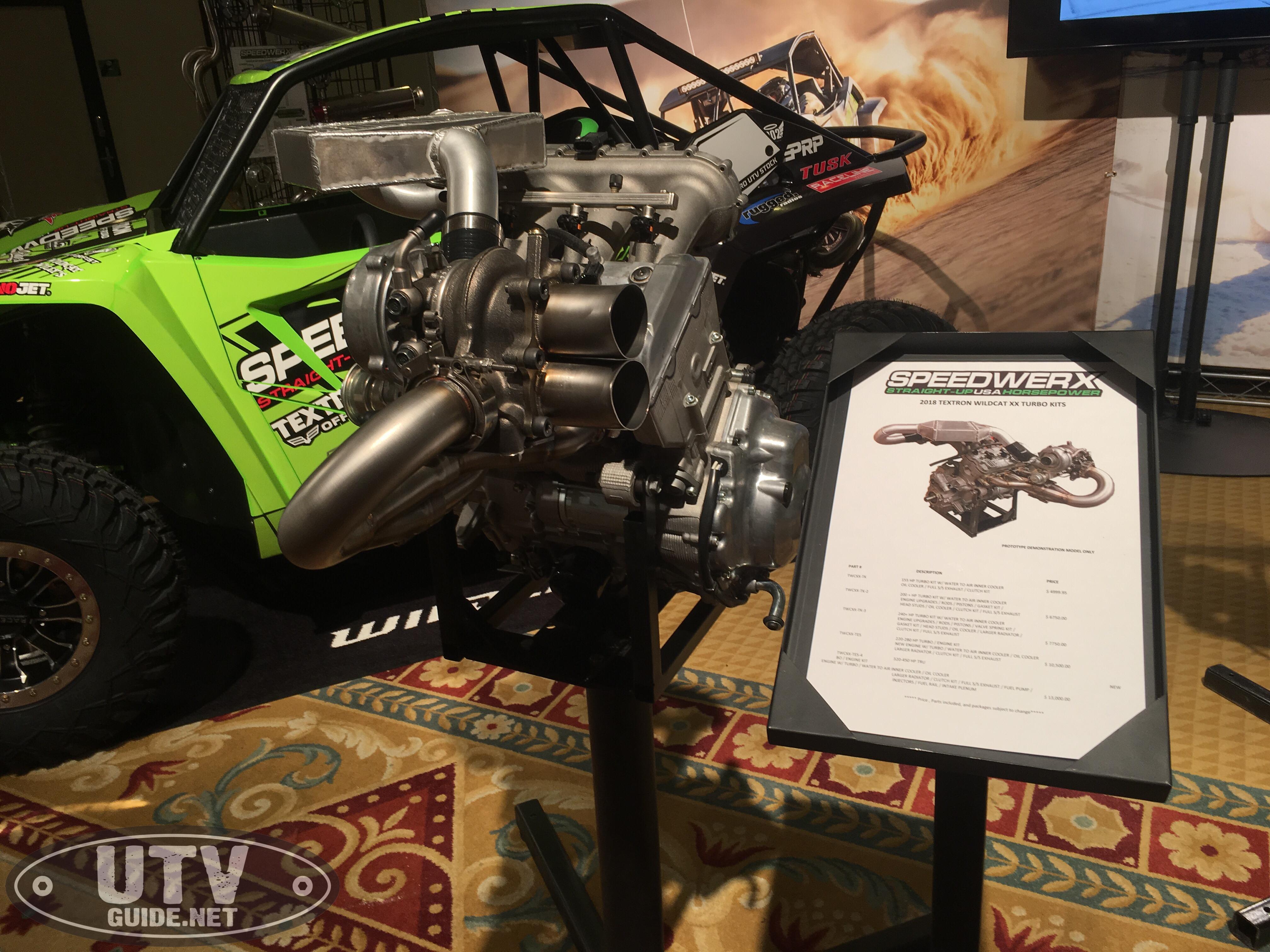 Textron Wildcat XX Turbo Options - UTV Guide