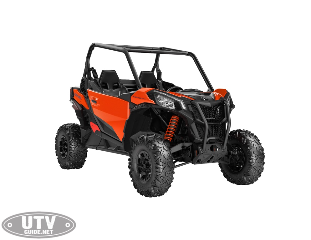 2019 Maverick Sport DPS 1000R Can Am Red_3 4 front 2019 can am maverick sport family utv guide