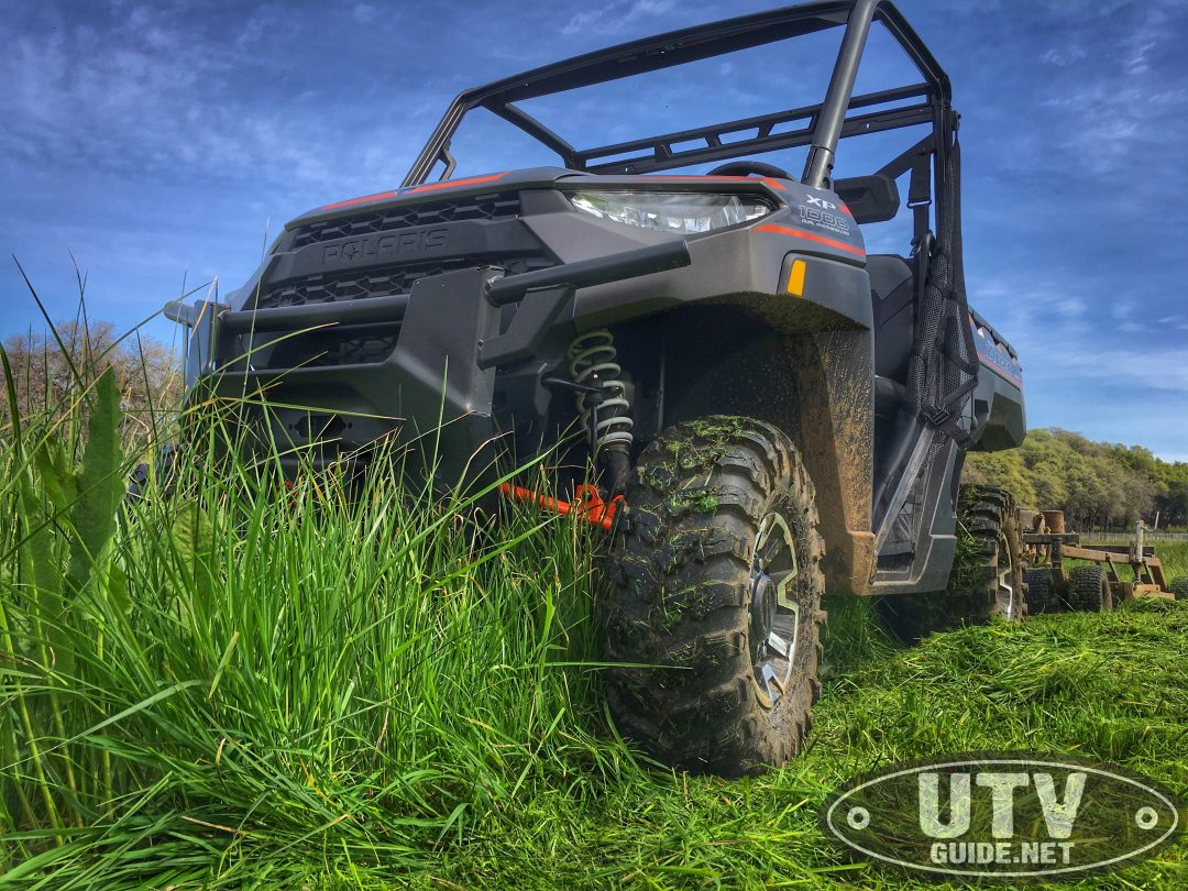 field mowing with the 2018 polaris ranger xp 1000 utv guide. Black Bedroom Furniture Sets. Home Design Ideas