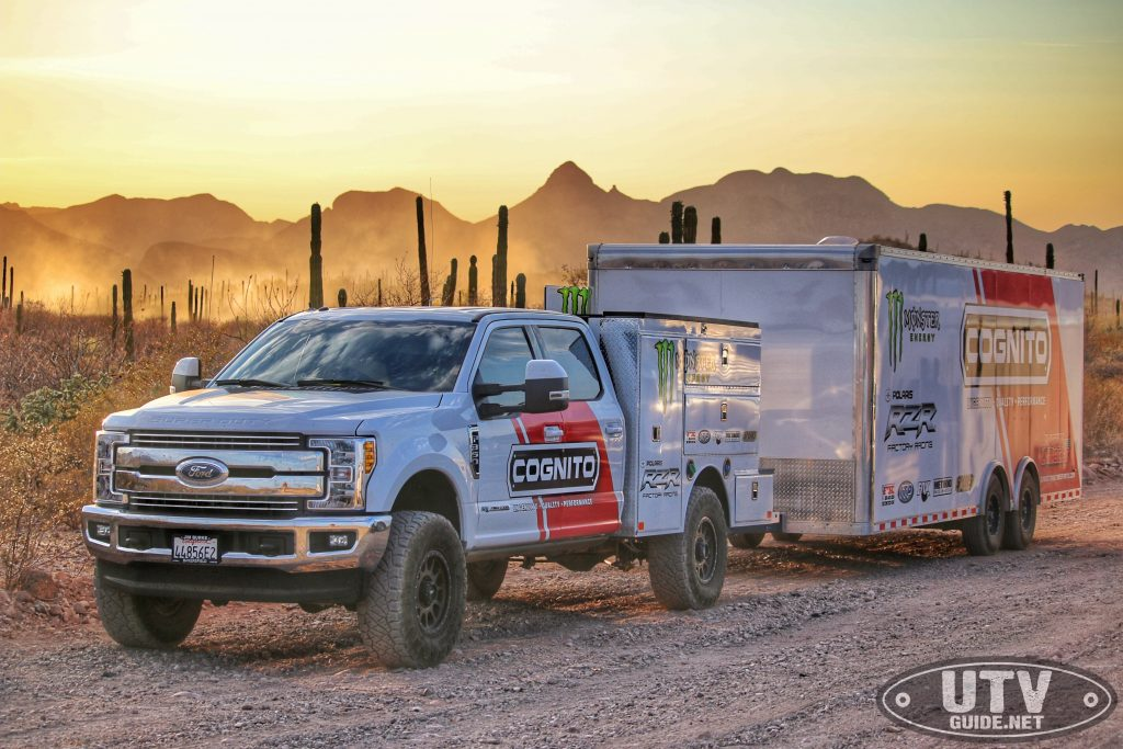 Cognito Motorsports Chase Truck
