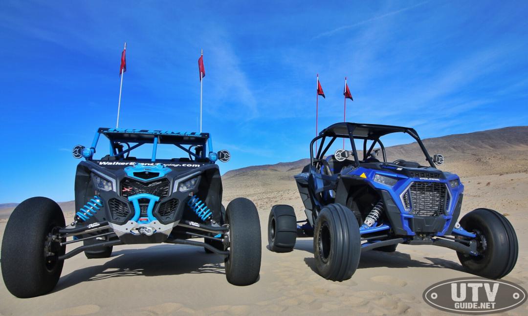 Polaris RZR XP Turbo S vs. Can-Am Maverick X3 X RC