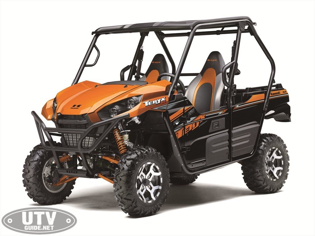 2019 Kawasaki Teryx - Candy Steel Furnace Orange
