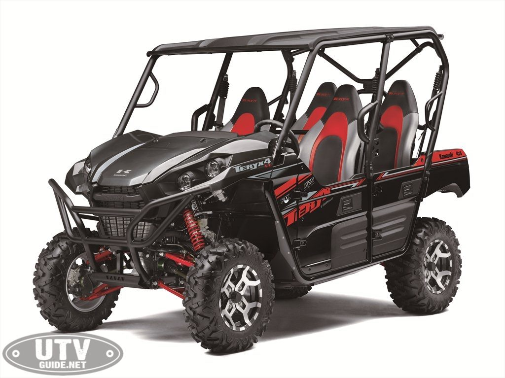 Best Side By Side Atv >> 2019 KAWASAKI TERYX AND TERYX4 SIDE X SIDES - UTV Guide