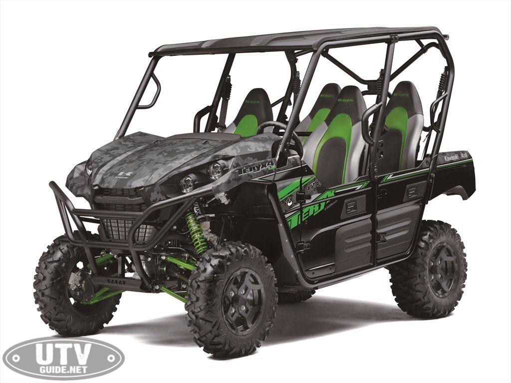 2019 Kawasaki Teryx4 - Matrix CamoGray