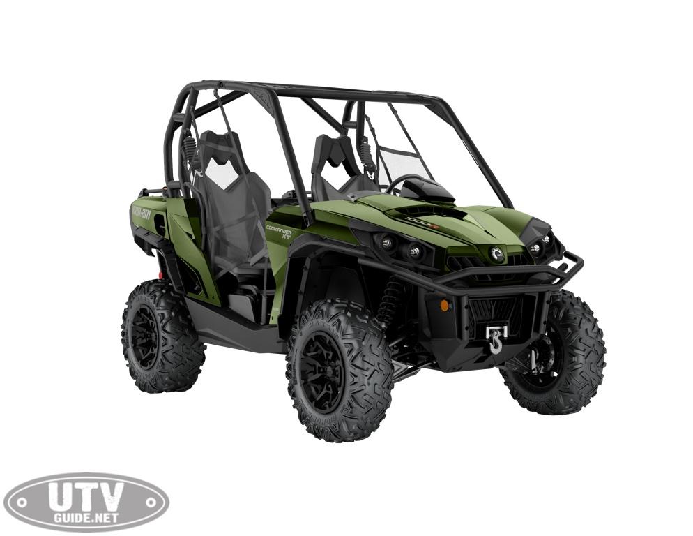 2019 Commander XT 1000R Boreal Green