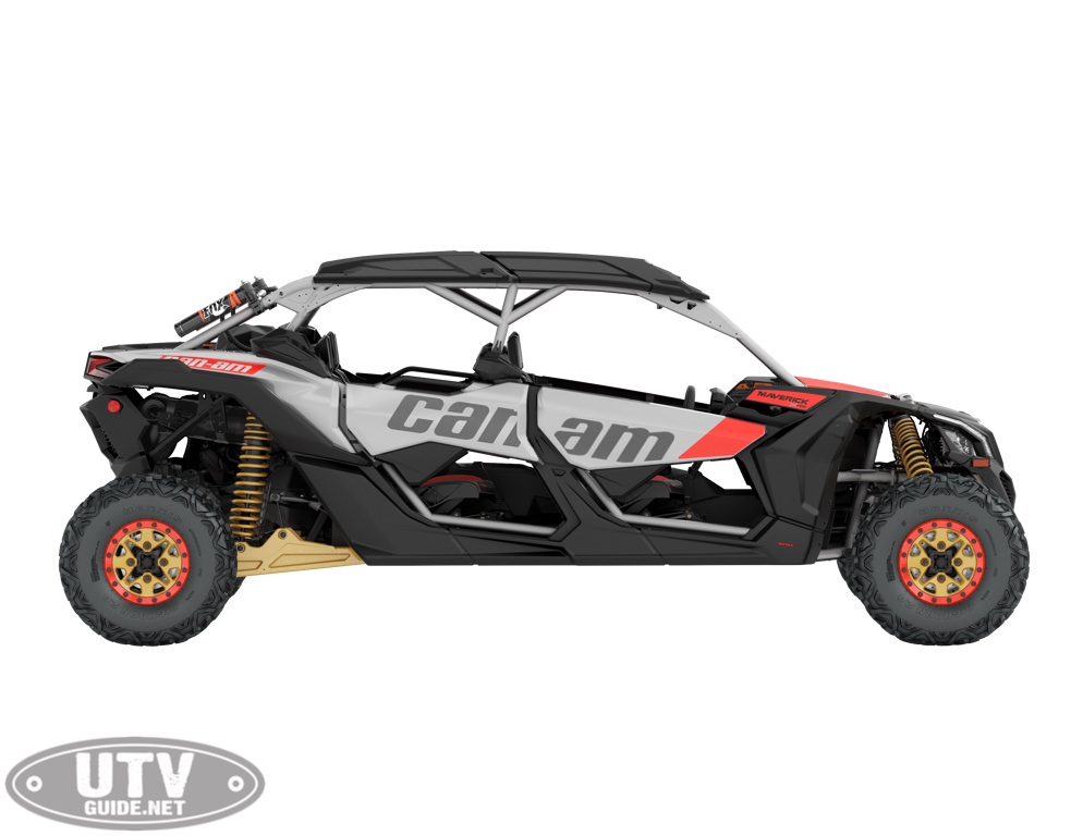2019 Maverick X3 MAX X rs TURBO R Gold, Can-Am Red / Hyper Silver