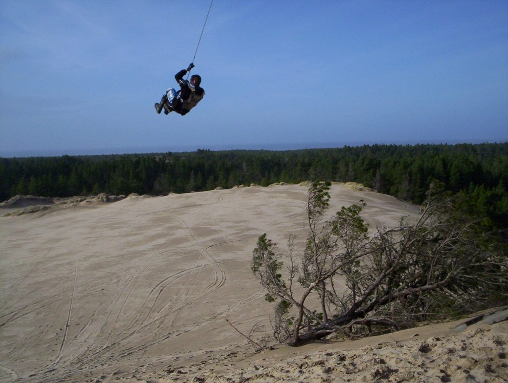 coos bay sand dunes, swing hill coos bay