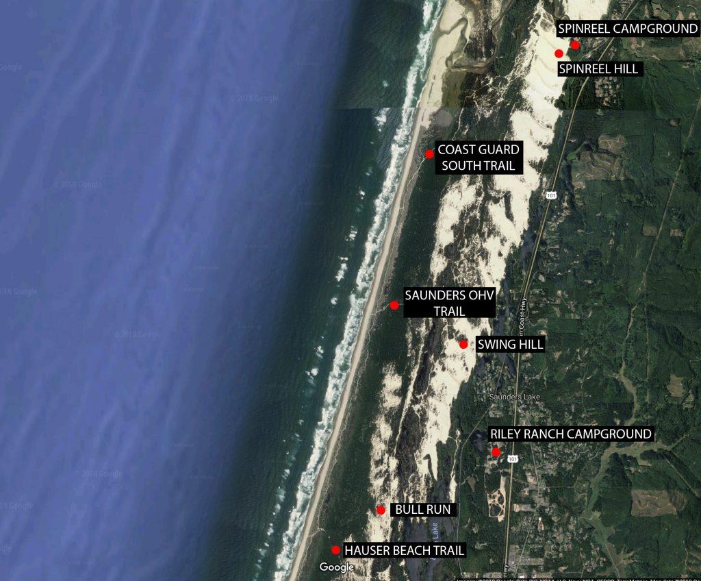 coos bay dunes, horsfall dunes, horsfall beach, oregon dunes