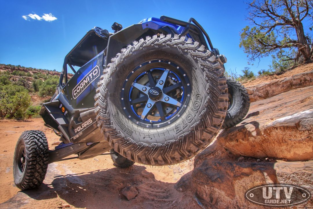 ITP Coyote Tire mounted on Cyclone Wheel