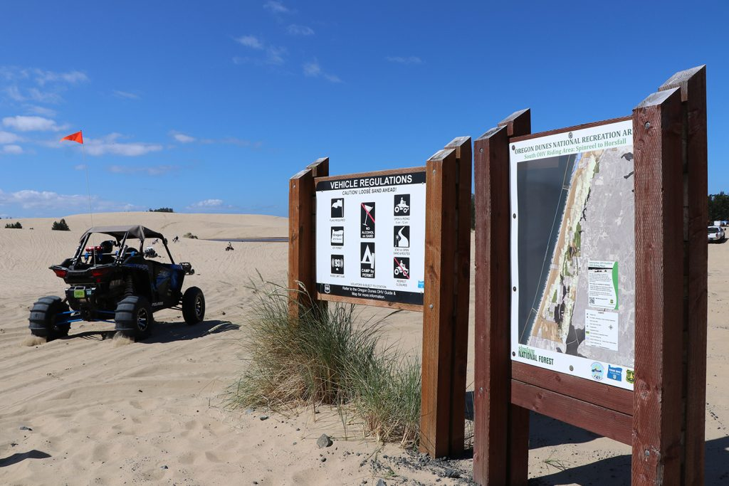 Horsfall dunes, spinreel dunes, coos bay dunes