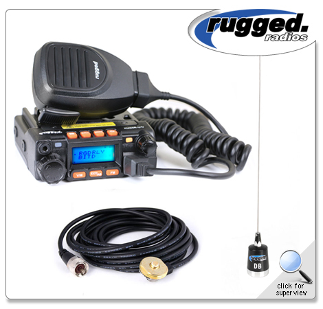 Rugged Radios 25 watt radio
