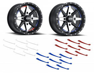 ITP Cyclone Wheel with colored inserts
