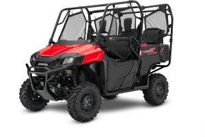 2019 Honda Pioneer 700 4 Red