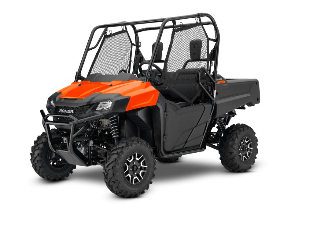 2019 Honda Pioneer 700 Deluxe Pearl Orange