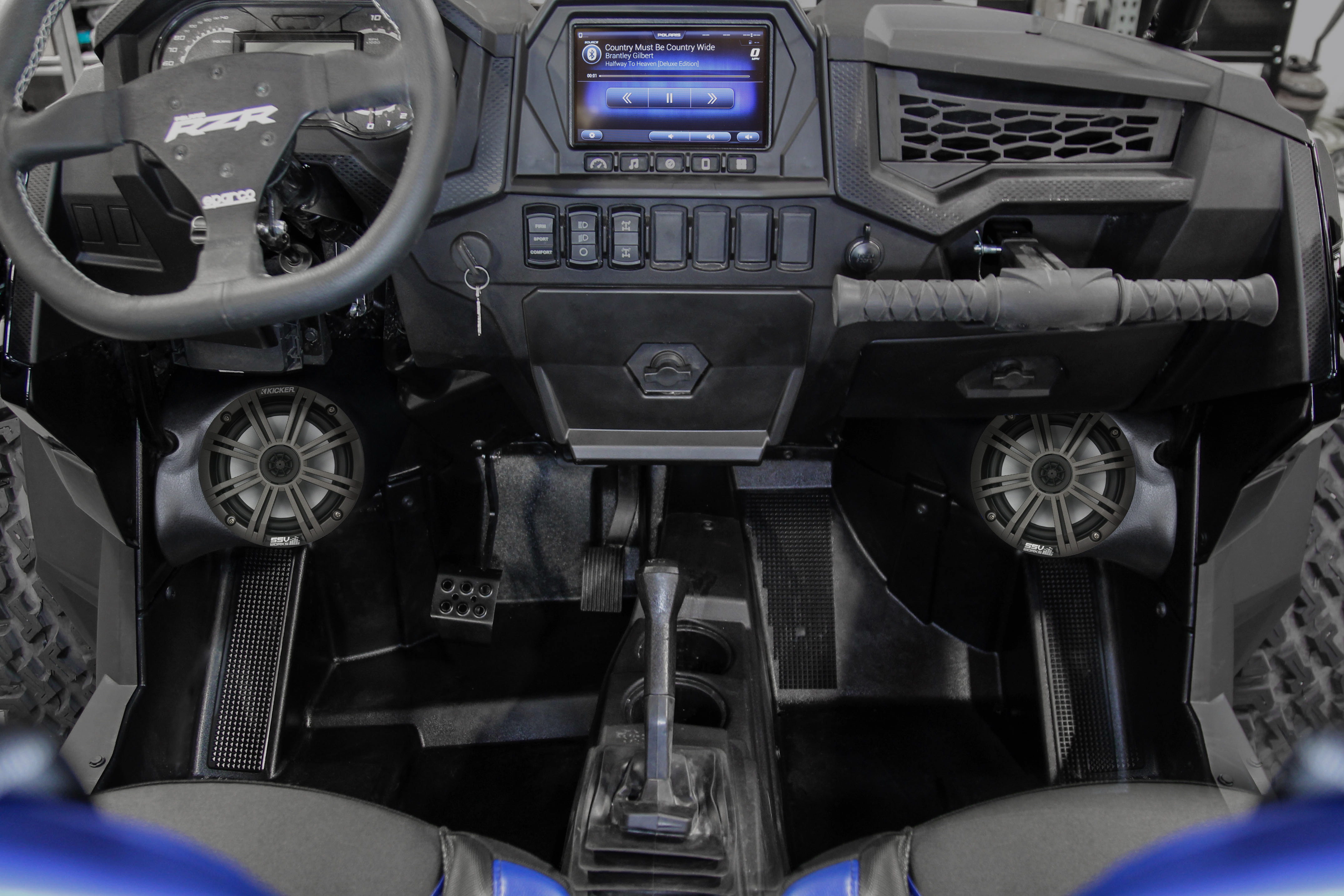 Plug-&-Play audio upgrade for the Polaris Ride Command system