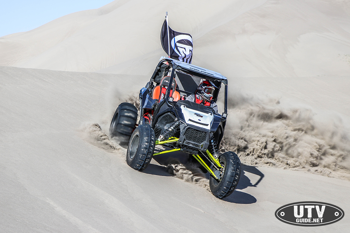 "A Polaris Employee Build's His Own Two Wheel Drive ""Sand ..."