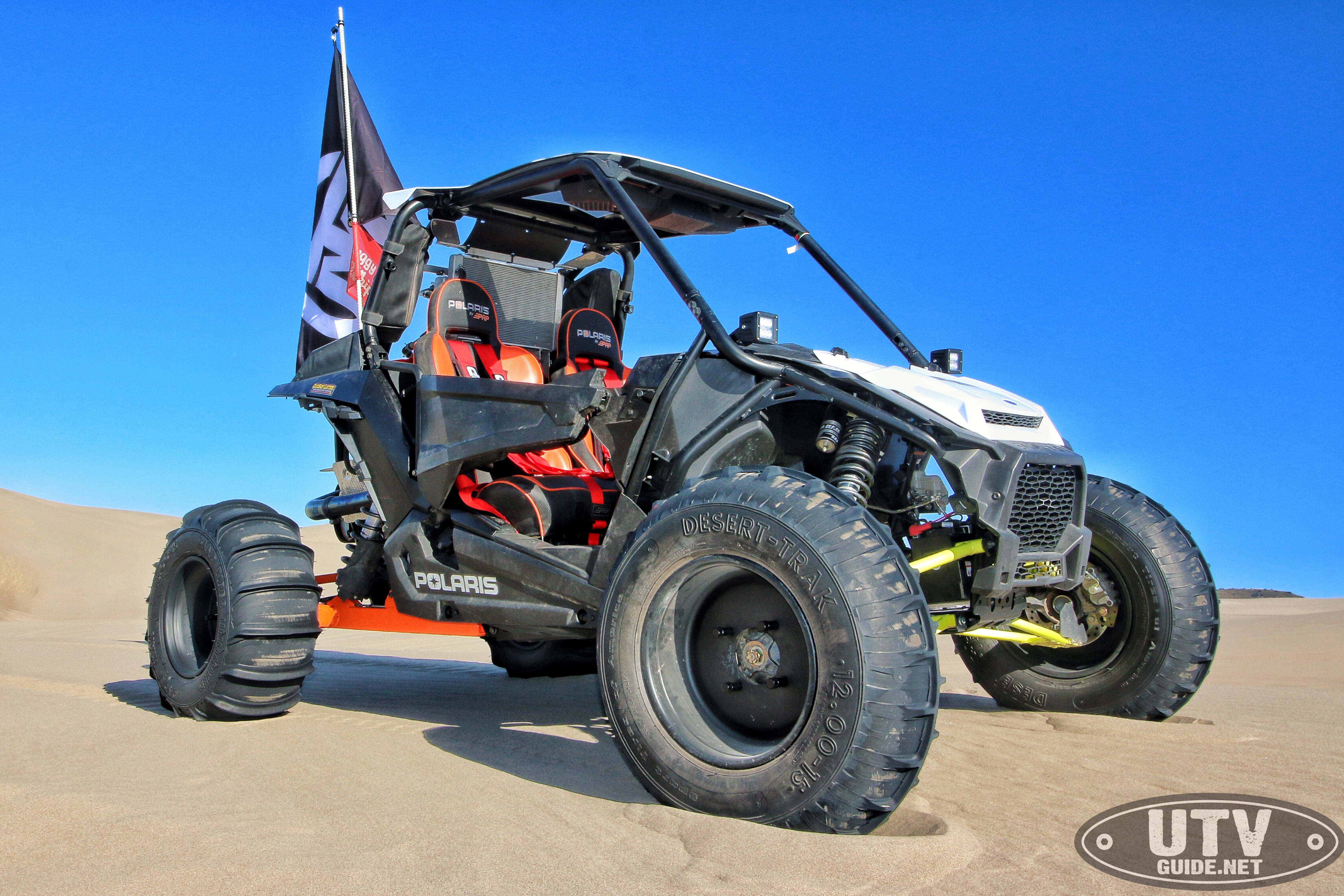 A Polaris Employee Build's His Own Two Wheel Drive