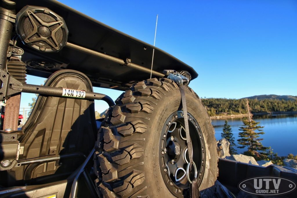 Yamaha Spare Tire Carrier