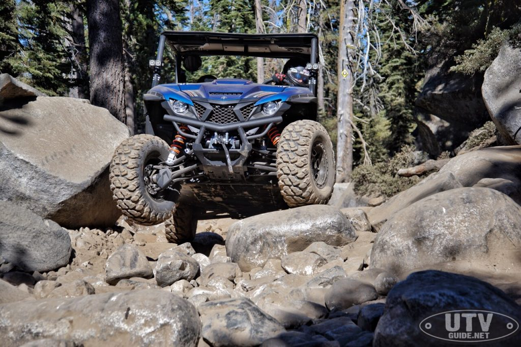 Yamaha Wolverine X2 on the Rubicon Trail