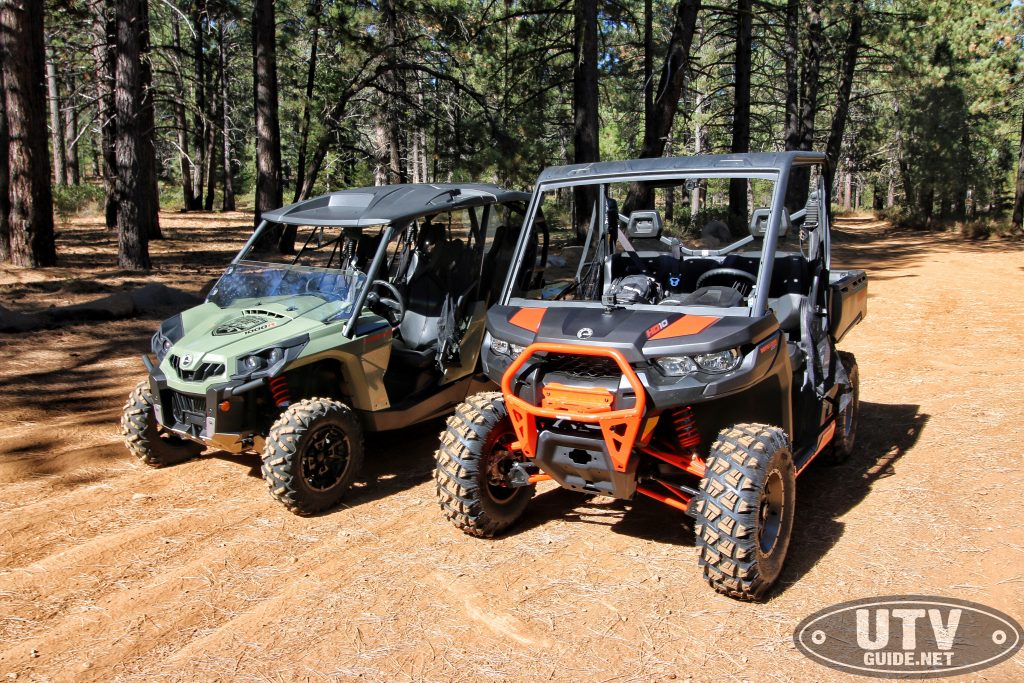 Can-Am Defender and Commander