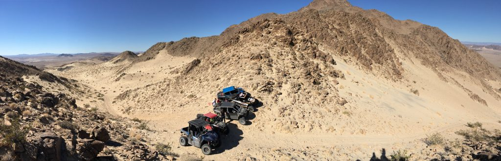 UTVs in the Mojave Desert