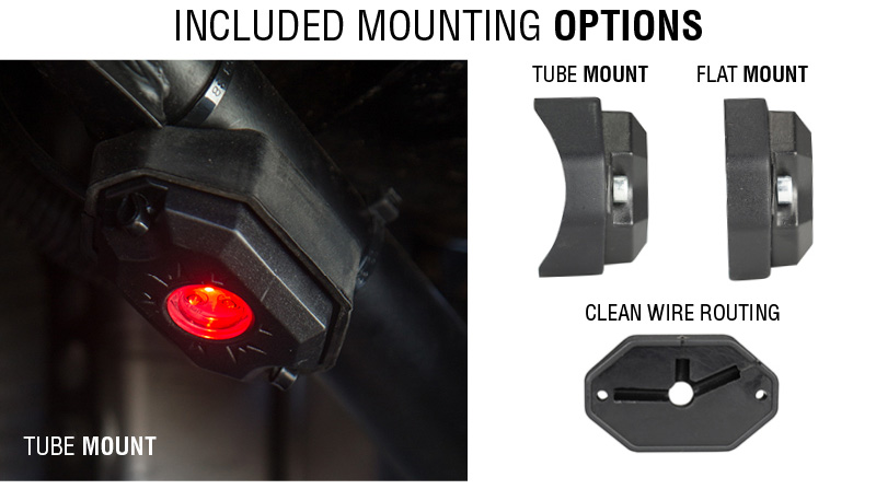 Vision X 9 Watt LED XP Rock Lights - UTV Guide