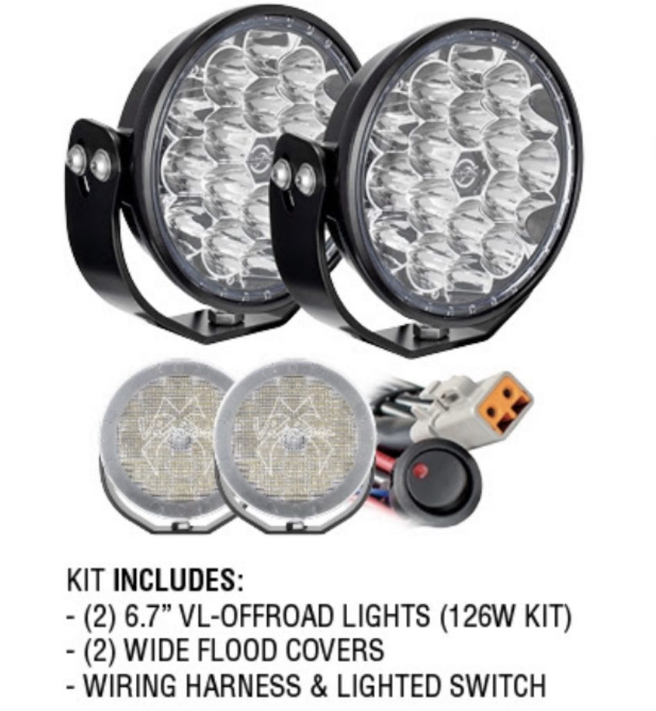"6.7"" VL OFF-ROAD Driving Lights Kit"