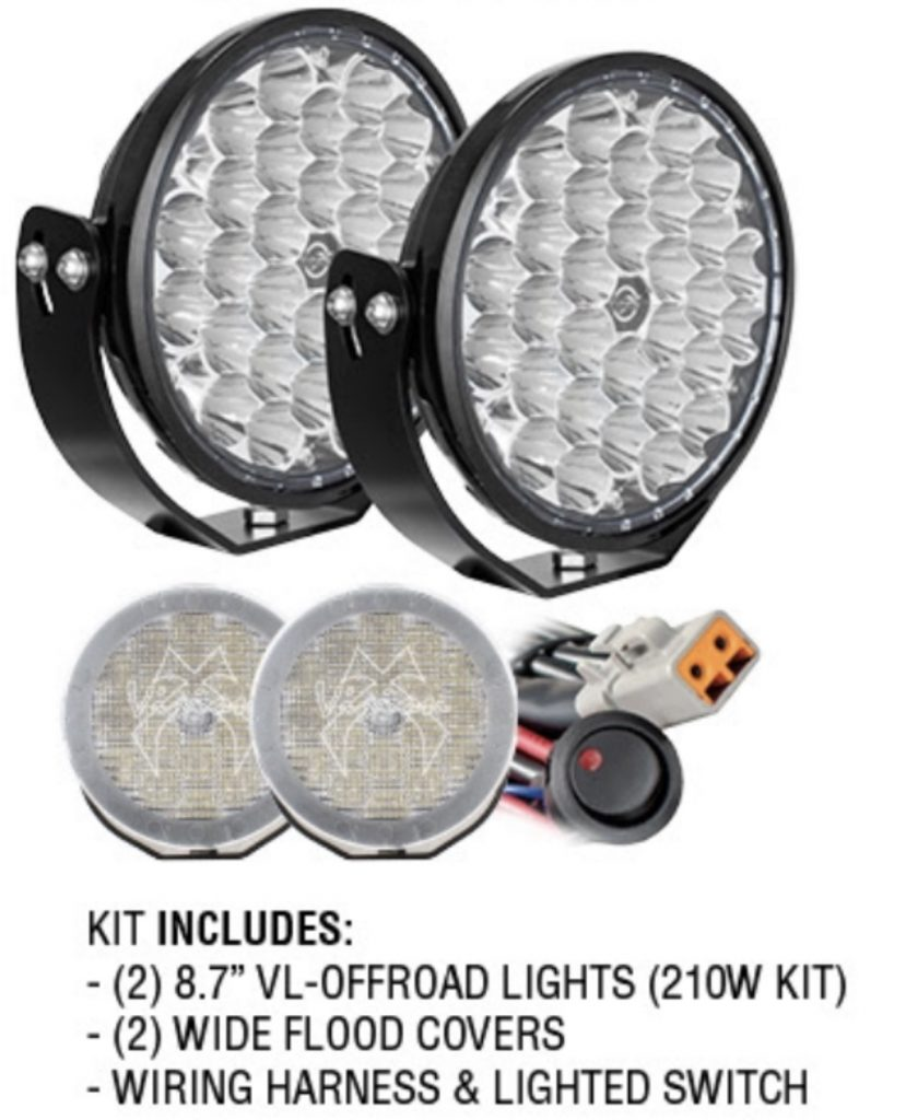 "8.7"" VL OFF-ROAD Driving Lights Kit"