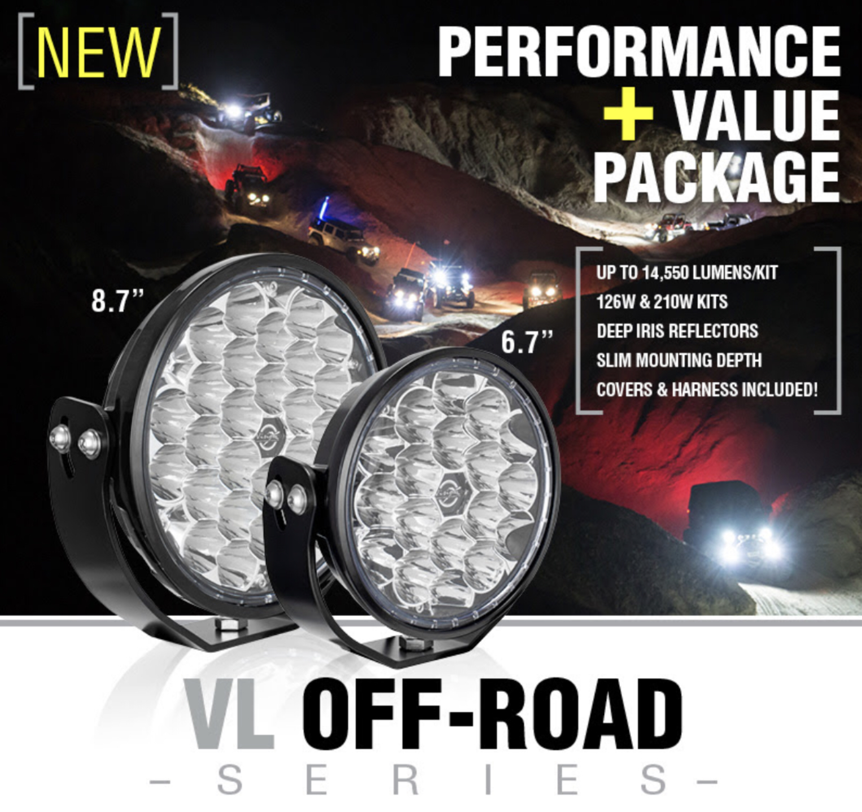 Vision X VL OFF-ROAD Series Lights