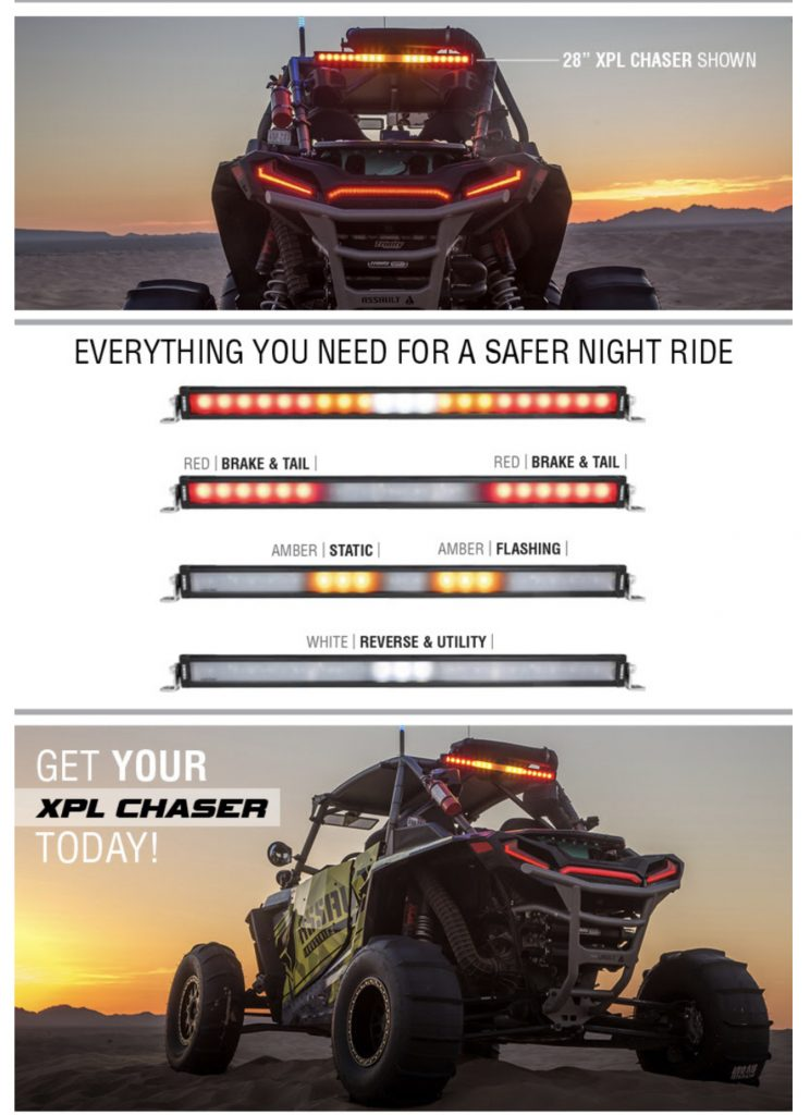 Vision X XPL Chaser Series LED Bars