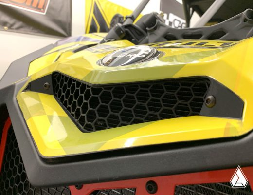 Honeycomb Bonnet Grill for Can-Am Maverick X3