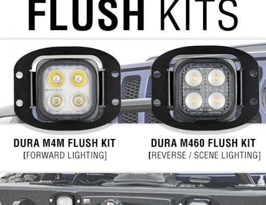 Vision X Duralux Mini Flush Kit