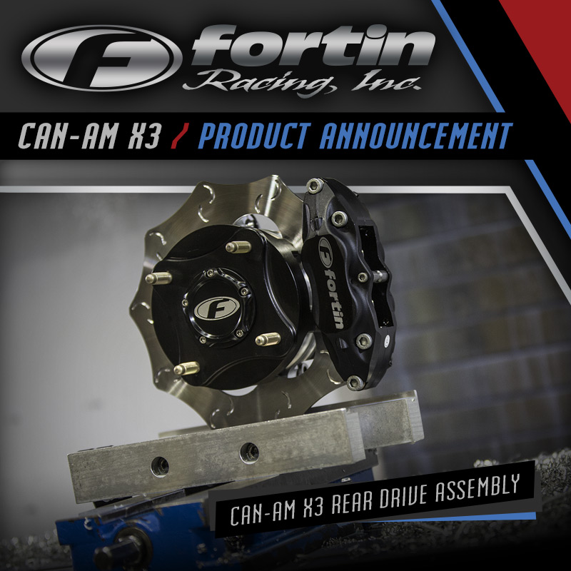 Fortin Can-Am Maverick X3 Rear Hub