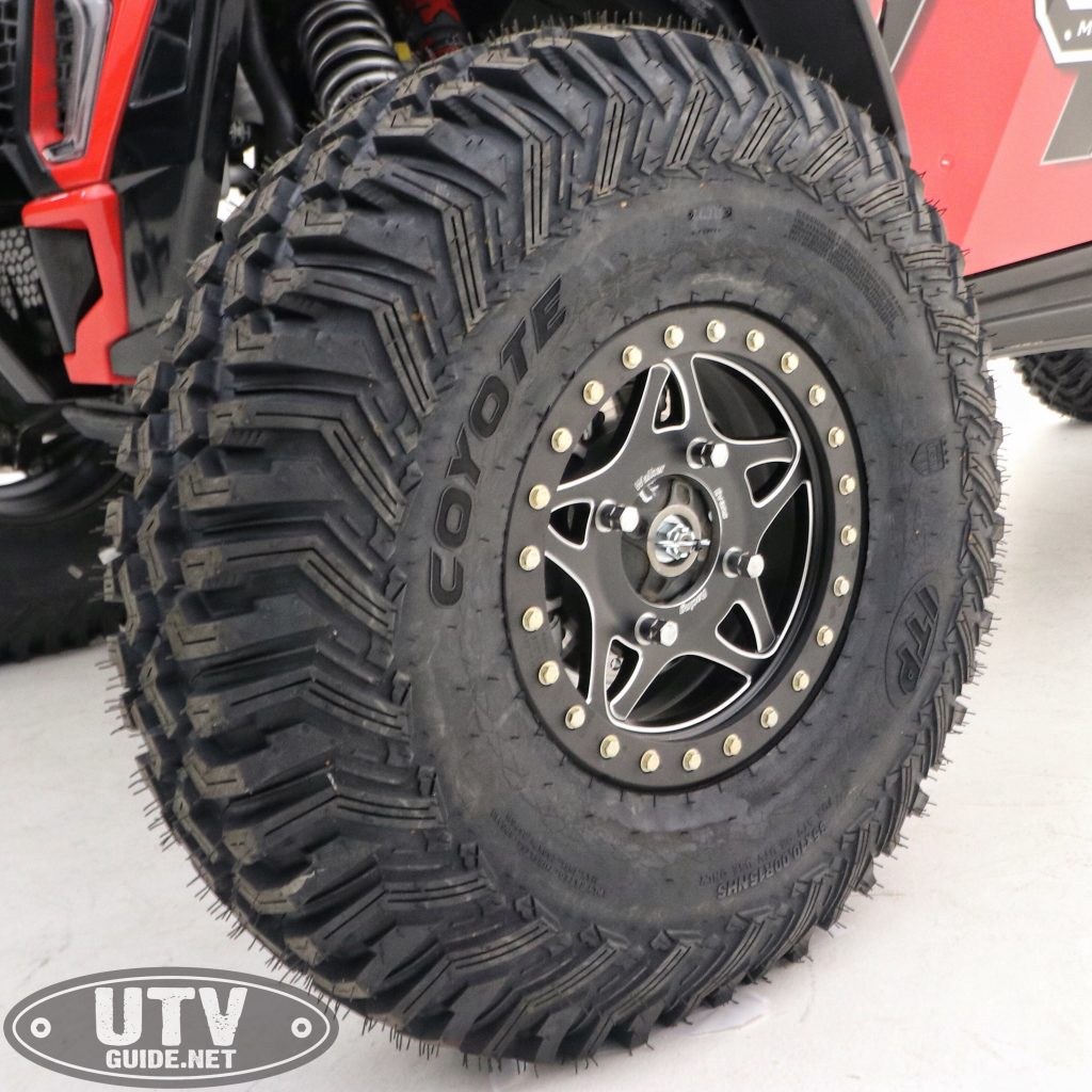 35-inch ITP Coyote Tires Mounted on Walker Evans Racing Legend Beadlock Wheels