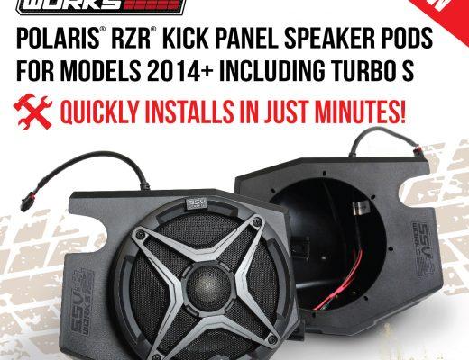 SSV Works Polaris RZR Kick Panel Pods