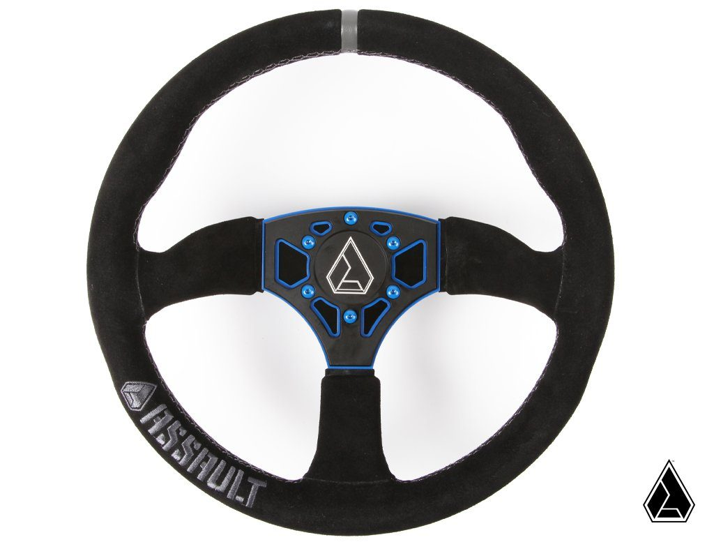 Assault Industries 350R Suede Steering Wheel