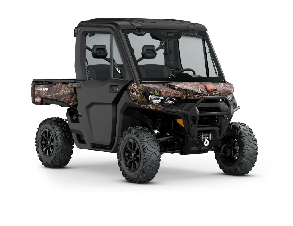 2020 Can-Am Defender XT HD10 with full cab