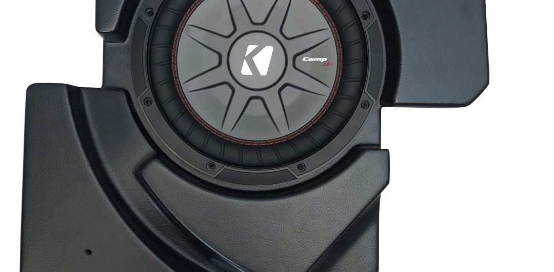 CanAm Maverick X3 Under Seat 10-Inch Sub Box