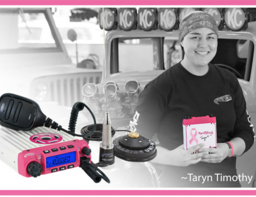Rugged Radios Pink Radio