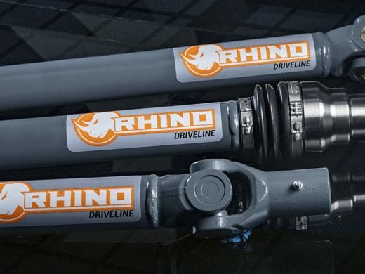 Super ATV Rhino Driveline Prop Shafts