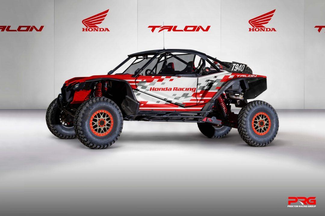 Honda Talon 1000R Race Car