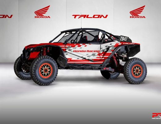 Honda Talon 1000R Race Car