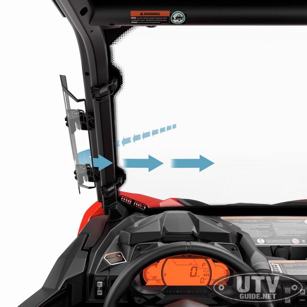 Can-Am Defender Side Wind Deflectors