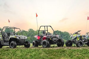 Polaris' youth off-road vehicle lineup