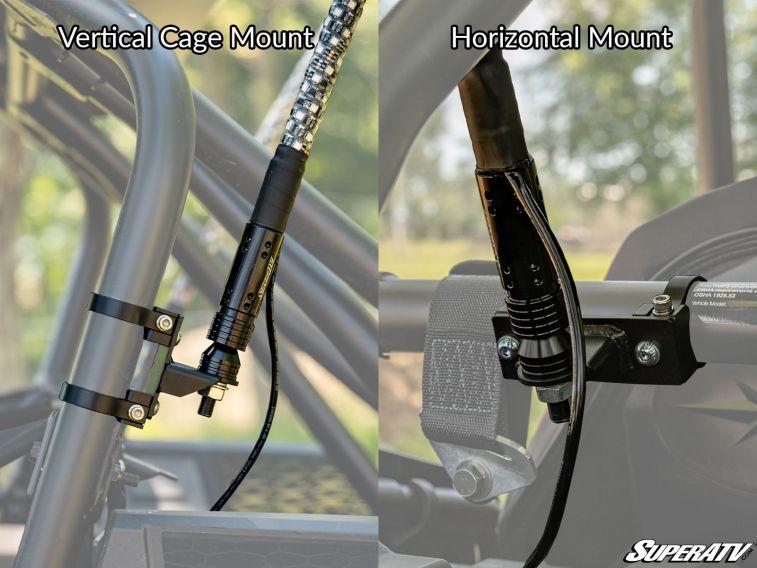 SuperATV LED Whip Light Mount