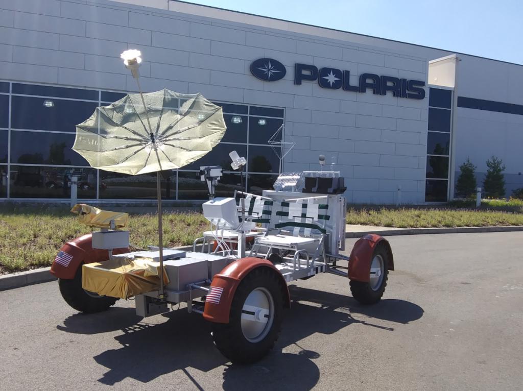 Polaris Lunar Rover Replica