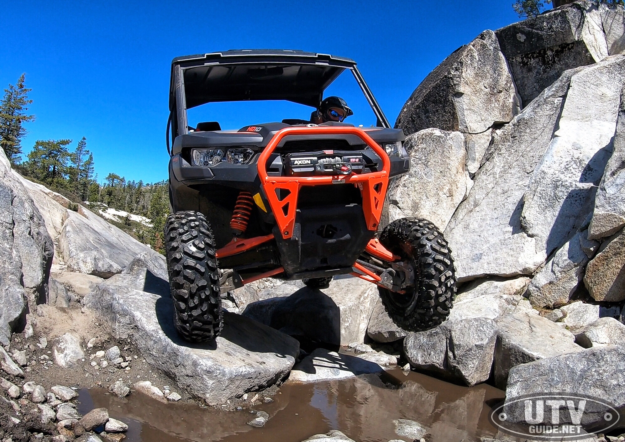 Rock Crawling on the Rubicon Trail with our Can-Am Defender
